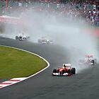  F1 British Grand Prix 2011 by Matt Eagles