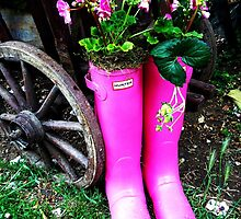 Pink Wellies 1 by rualexa