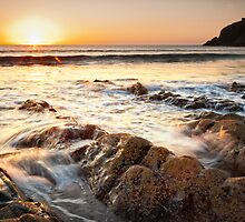 Liquid Gold, Abereiddy, Pembrokeshire, Wales by Robin Whalley