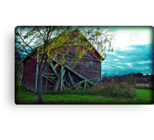 they remind me houses are just made of wood Canvas Print