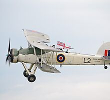 Fairey Swordfish II LS326 by Nigel Bangert