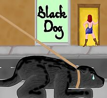 Black Dog by mordechai