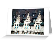 Chateau Laurier, Ottawa, Ontario, Canada Greeting Card