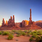 The Totem Pole (Monument Valley, Arizona) by Brendon Perkins