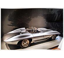 1959 Chevrolet Corvette String Ray Concept Racer Poster