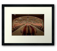 Wine Cellar (Robert Mondavi Winery, Napa Valley, California) Framed Print