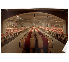 Wine Cellar (Robert Mondavi Winery, Napa Valley, California) Poster