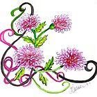 Chrysanthemum Doodle by plunder