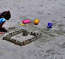 Sand Castle by Stephen Burke