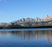 Lower Kananaskis Lake by Alyce Taylor