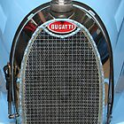 Bugatti Type 37A, 1926, Radiator Detail  by Carole-Anne