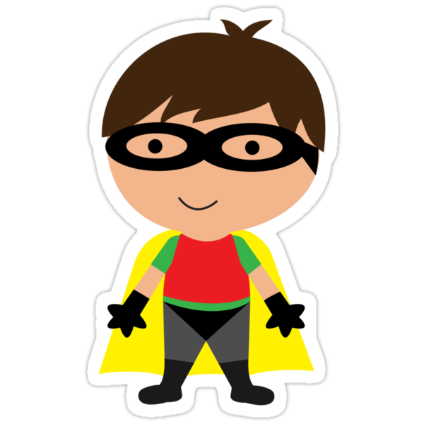 Cutie Robin (The Boy Wonder) by melissagavin