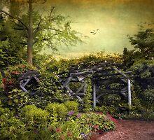Garden  Arbor by Jessica Jenney