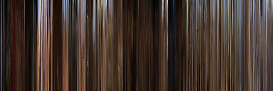 Moviebarcode: Back to the Future Part III (1990) by moviebarcode