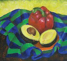 Avocado and Pepper by Shani Sohn