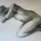 Crouching figure by Kathylowe