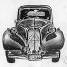 1937 Citroen - Classic Car by BigBlue222
