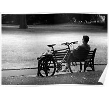 A Rest In the Park Poster