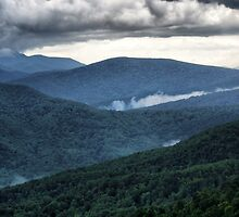 The Blue Ridge Mountains by James Brotherton