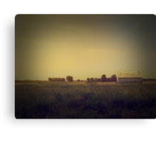 it's faded... it's all just faded and turning to dust Canvas Print