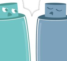 Shampoo vs. Conditioner Sticker
