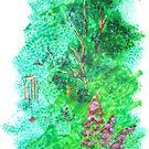 Sponge garden by Hilary Robinson
