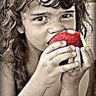 An apple a day... by Hazel Dean