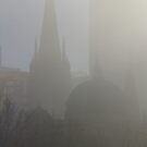 Through The Fog, A Steeple And A Dome by David McMahon