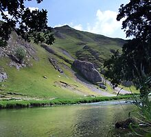 River Dove at Dovedale by Paul  Green