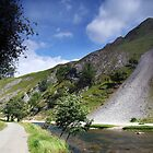 Thorpe Cloud from Dovedale by Paul  Green