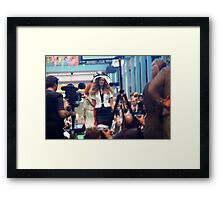 Centre of Attention - Fashion Framed Print