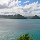 St. Lucia Landscape from Fort Rodney by thatche2