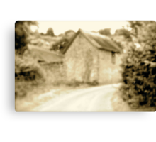 Road to East Hill.. Canvas Print