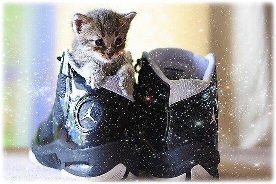 Magical Jordan shoes by AngieBanta