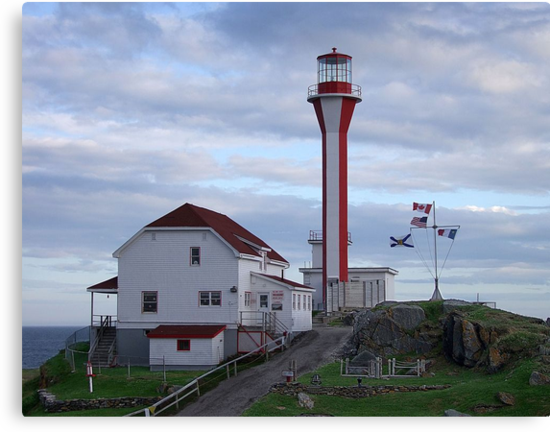 Cape Fourchu Lighthouse by George Cousins