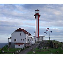 Cape Fourchu Lighthouse Photographic Print