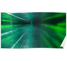Green Stratified Flow Poster