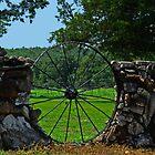 Wheel Rock Entrance by Susan Blevins