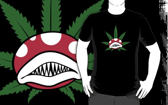 potted piranha plant. by Dann Matthews