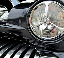 1951 Modified Merc Headlight Section by Debbie Robbins