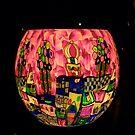 Illuminated Town by DEB CAMERON
