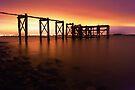 Aberdour Pier by Chris Cherry