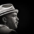 Jason Moran, the pianist.  by Farfarm
