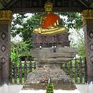 Buddha statue by machka