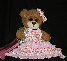 Mrs. Bear Sits for Her Portrait by aussiebushstick
