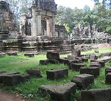 Angkor Watt Complex. by machka