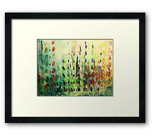 floral observation summer Framed Print