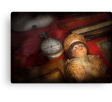 Steampunk - 9:14  Canvas Print