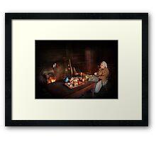 Chef - Kitchen - Maud  Framed Print
