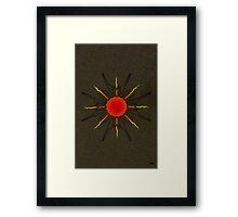 Celtic Sun Framed Print